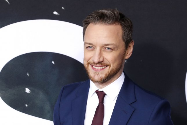 Actor James McAvoy can now be seen in the teaser for the BBC series His Dark Materials. File Photo by John Angelillo/UPI