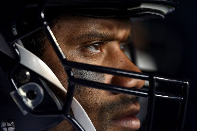 Seattle Seahawks quarterback Russell Wilson has completed 67.3 percent of his passes for 2,937 yards, 24 touchdowns and three interceptions this season. Photo by Derik Hamilton/UPI