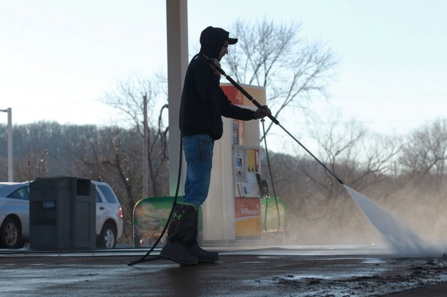 Retail gasoline prices move past the $2 per gallon mark as refinery maintenance strains the supply side and consumer demand rises as winter fades away. Photo by Bill Greenblatt/UPI