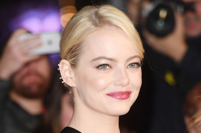 Emma Stone has reportedly been seeing Saturday Night Live writer and director Dave McCary for at least three months. File Photo by Rune Hellestad/UPI