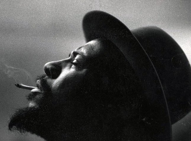 Pianist/composer Thelonious Monk is pictured in a February 28, 1959 image at Town Hall in New York. (UPI Photo/Courtesy of the heirs of W. Eugene Smith and the Center for Creative Photography at the University of Arizona)