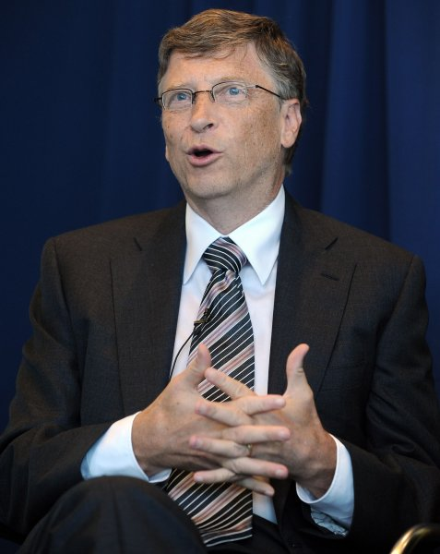 Bill Gates (UPI/Roger L. Wollenberg)