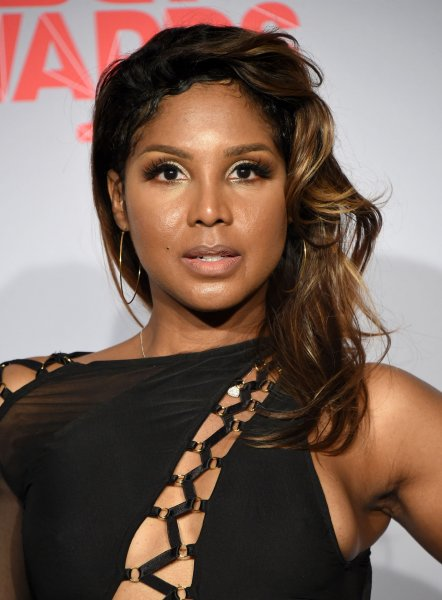 Toni Braxton at the BET Awards on Sunday. Photo by Phil McCarten/UPI