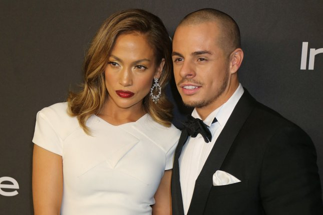 Casper Smart and Jennifer Lopez attend the 17th annual InStyle and Warner Bros. Golden Globe after-party at the Beverly Hilton Hotel in Beverly Hills, Calif, on January 10, 2016. Sources say the couple has called it quits after nearly five-years together. File Photo by David Silpa/UPI