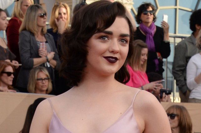 Maisie Williams posted a message on social media this weekend, bidding farewell to her show Game of Thrones. File Photo by Jim Ruymen/UPI