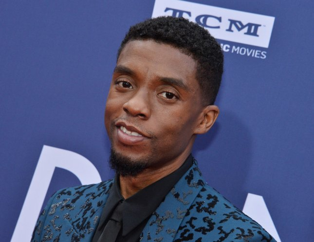 Chadwick Boseman stars in 21 Bridges, the first role he's played since portraying Black Panther in the Marvel films. File Photo by Jim Ruymen/UPI