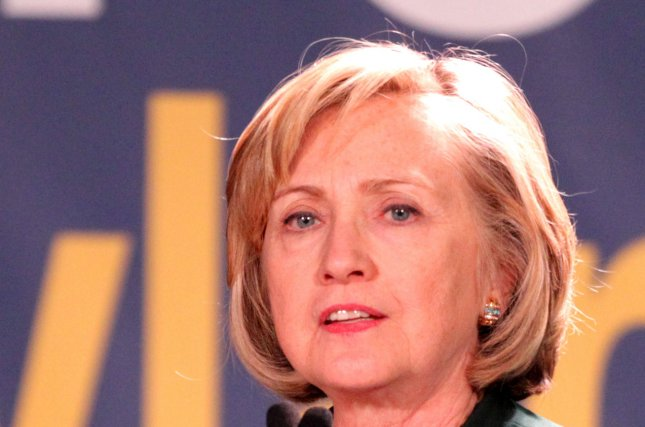 Hillary Rodham Clinton used her private email while conducting business as Secretary of State. UPI/A.J. Sisco