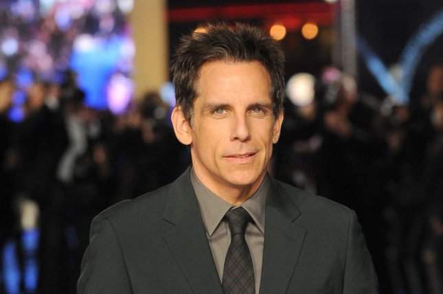 Ben Stiller at the London premiere of Night at the Museum: Secret of the Tomb on Dec. 15, 2014. The actor stars in a new Zoolander 2 trailer. File Photo by Paul Treadway/UPI