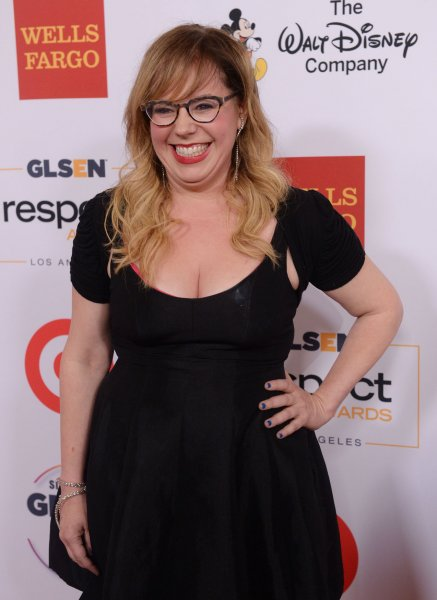 Kirsten Vangsness at the GLSEN Respect Awards in Beverly Hills, Calif. on Oct. 23. The actress and Keith Hanson recently got engaged. File Photo by Jim Ruymen/UPI