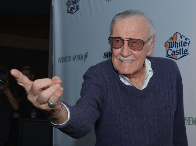 Stan Lee attends the Extraordinary: Stan Lee tribute event at the Saban Theater in Beverly Hills, California on August 22. On Wednesday, Lee was hospitalized for one night after a health scare. File Photo by Jim Ruymen/UPI