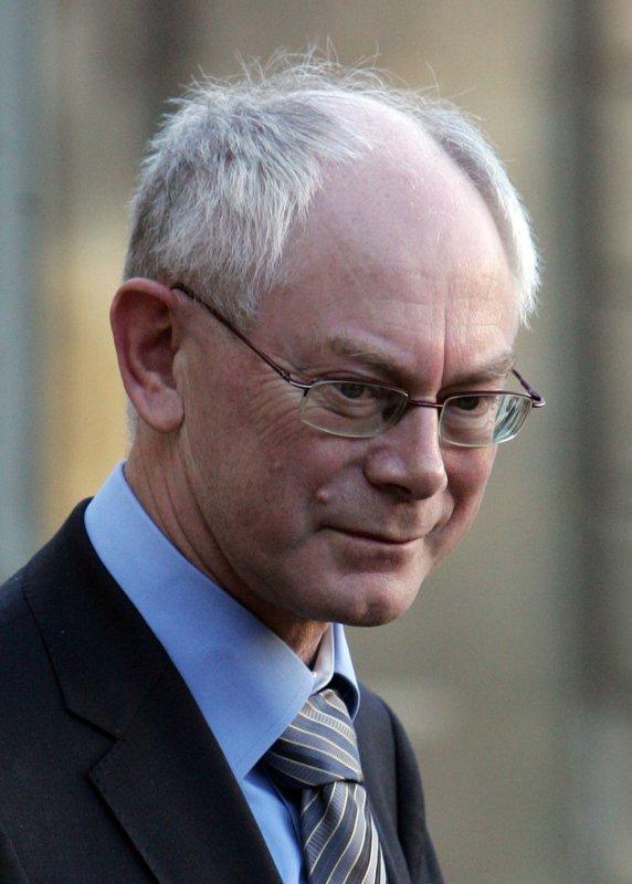 EU President Herman Van Rompuy UPI/Eco Clement