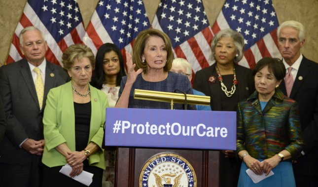 Congressional Democrats rally to protect health care programs