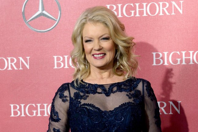 Mary Hart attends the 27th annual Palm Springs International Film Festival awards gala on January 2, 2016. The television personality is to be honored with a Lifetime Achievement Award at the Daytime Emmys gala in April. File Photo by Jim Ruymen/UPI