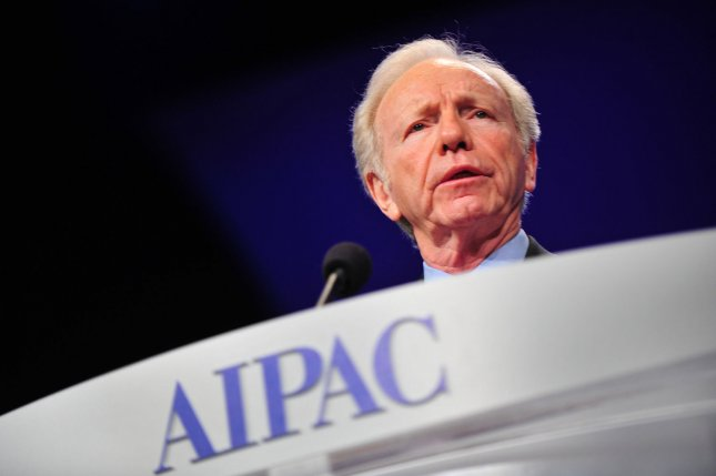 Sen. Joe Lieberman (I-CT) speaks at the The American Israel Public Affairs Committee (AIPAC) Policy Conference in Washington, D.C. on March 5, 2012. UPI/Kevin Dietsch