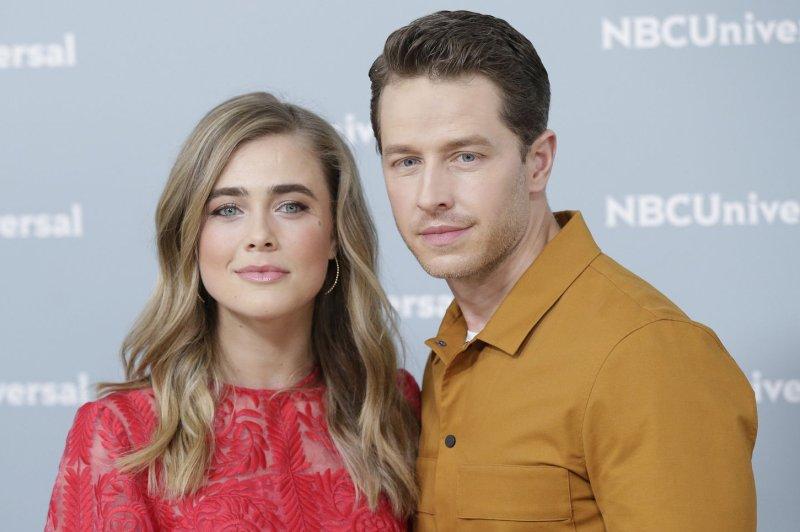 Manifest stars Melissa Roxburgh (L) and Josh Dallas. NBC has renewed the series for a second season. File Photo by John Angelillo/UPI