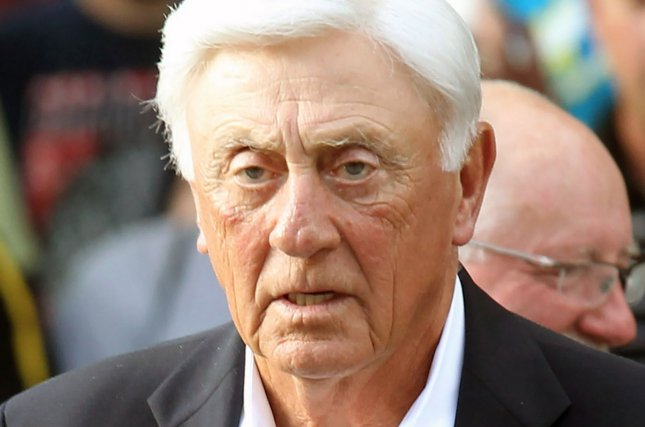Phil Niekro, shown in 2014 in Cooperstown, N.Y., died in his sleep after a long battle with cancer. The famous knuckleballer was inducted into the Baseball Hall of Fame in 1997. File Photo by Bill Greenblatt/UPI