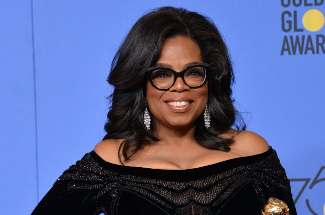 Oprah Winfrey is set to interview Prince Harry and Meghan Markle during a primetime special on CBS. File Photo by Jim Ruymen/UPI