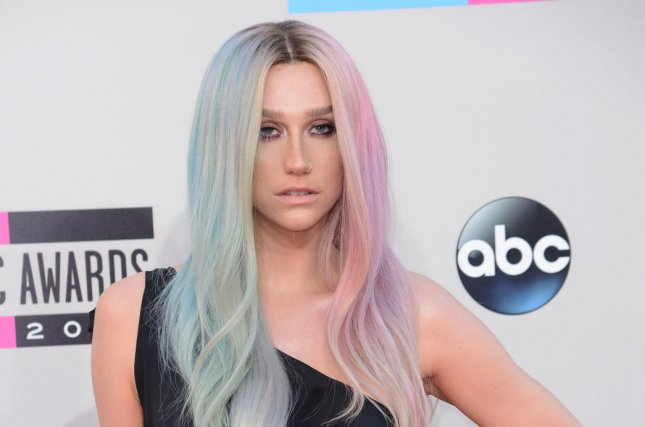Recording artist Ke$ha arrives for the 41st annual American Music Awards held at Nokia Theatre L.A. Live in Los Angeles on November 24, 2013. UPI/Phil McCarten