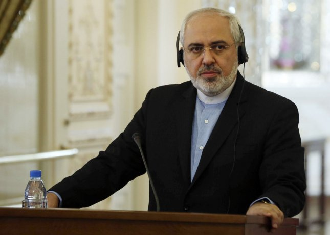 Iranian Foreign Minister Mohammad Javad Zarif said if the United States puts its money where its mouth is, it would accept Iran's offer. UPI/Maryam Rahmanian
