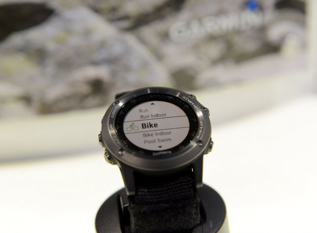 Garmin said Monday that most of the services affected by a recent cyberattack have been restored. Photo by Molly Riley/UPI