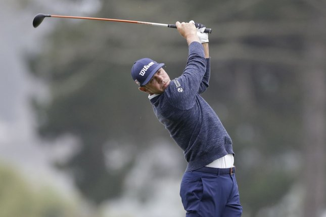Gary Woodland tested positive for COVID-19 and will not compete in this week's 2021 Honda Classic in Palm Beach Gardens, Fla. File Photo by John Angelillo/UPI