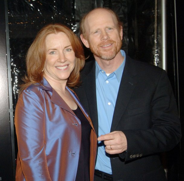 Actor/director Ron Howard and wife arrive for the New York premiere of his new film Frost/Nixon, which is based on conversations taped by David Frost with former President Nixon. on November 17, 2008. (UPI Photo/Ezio Petersen)