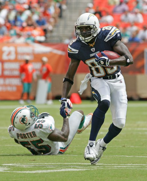 San Diego Chargers Cuts: Chargers Cut Receiver Chris Chambers