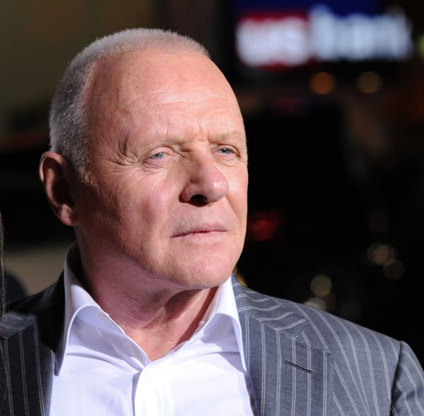 Anthony Hopkins, whose And the waltz goes on, debuted in Vienna. UPI/Jim Ruymen