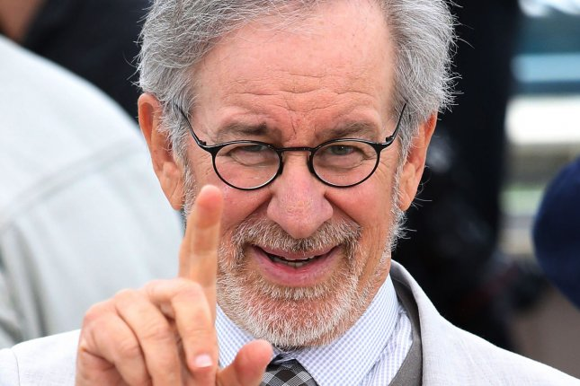 Steven Spielberg arrives at the jury photocall during the 66th annual Cannes International Film Festival in Cannes, France on May 15, 2013. UPI/David Silpa