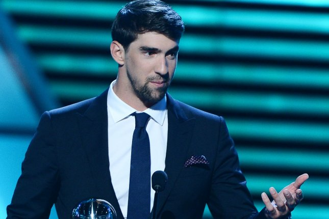 Michael Phelps. UPI/Jim Ruymen