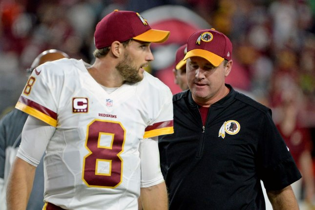 Jay Gruden: 'Without a doubt' Washington Redskins better with Alex Smith