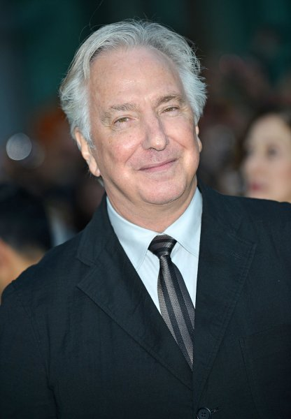 Alan Rickman's diaries are being published. File Photo by Christine Chew/UPI