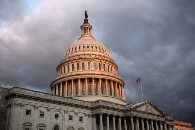 A group of 21 Senate Democrats said recurring direct payments to Americans could help those who haven't lost their jobs to the pandemic, but have seen reduced hours or lower pay grade. File Photo by Kevin Dietsch/UPI