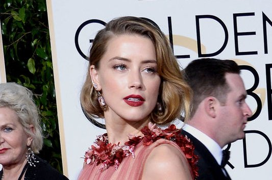 Amber Heard at the Golden Globe Awards on January 10. The actress will play Mera in Justice League and Aquaman. File Photo by Jim Ruymen/UPI