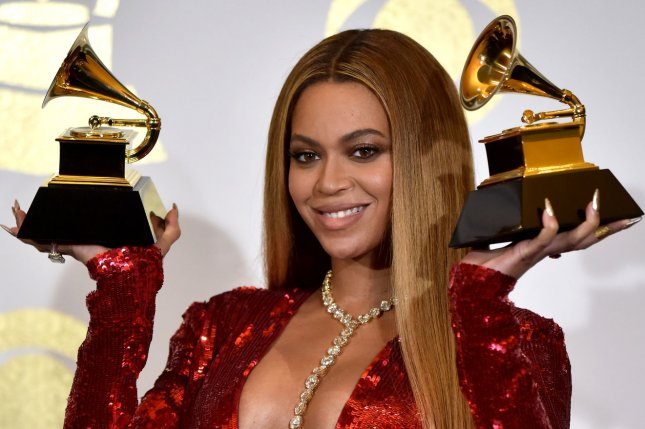 Beyoncé attends the Grammy Awards on February 12. The singer is pregnant and expecting twins with husband Jay Z. File Photo by Christine Chew/UPI