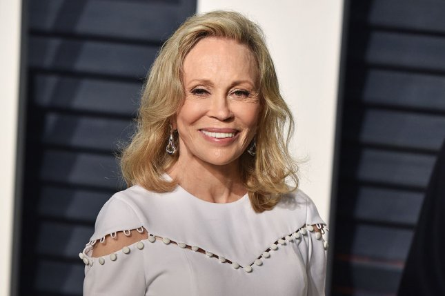 Faye Dunaway attends the Vanity Fair Oscar party on February 26. The actress opened up Monday on NBC Nightly News about mistakenly announcing La La Land as the Best Picture winner. File Photo by Christine Chew/UPI