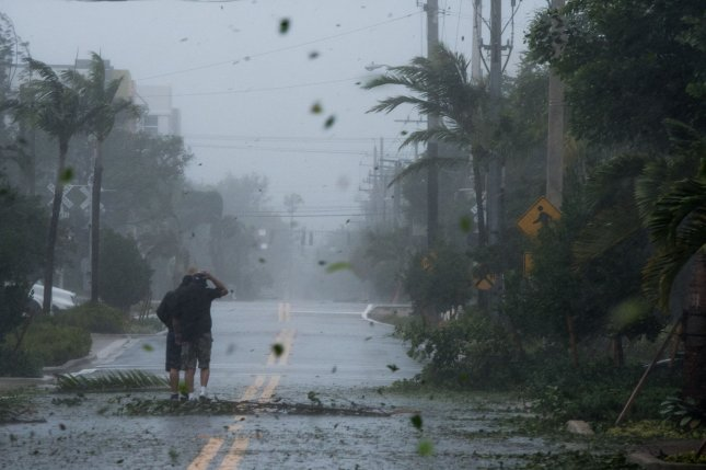 Hurricanes Harvey and Irma expected to create an interesting few weeks for energy market observers, a report from Goldman Sachs found. Photo by Ken Cedeno/UPI