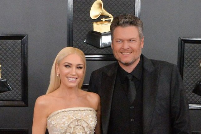 Gwen Stefani and Blake Shelton have gotten engaged. File Photo by Jim Ruymen/UPI