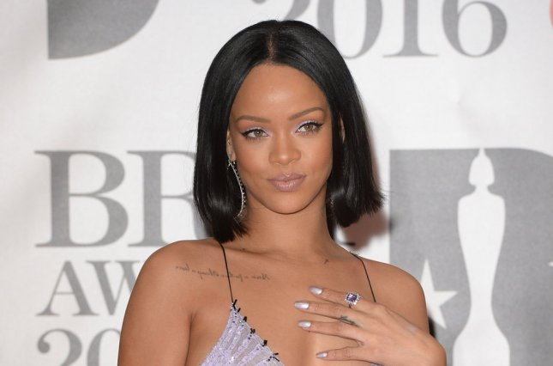 Rihanna at the Brit Awards on Wednesday. Photo by Rune Hellestad/UPI