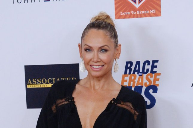 Kym Johnson attends the 22nd annual Race To Erase MS gala at the Hyatt Regency Century Plaza in the Century City section of Los Angeles on April 24, 2015. The actress will fill in for Erin Andrews on Dancing with the Stars while Andrews is out. File Photo by Jim Ruymen/UPI