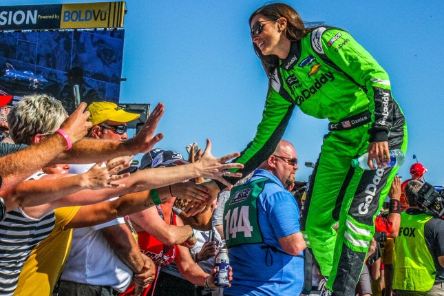Danica Patrick shares birthday party photos with Aaron Rodgers