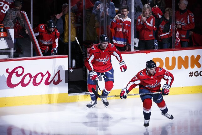 more photos feedb a1a7b Watch: Capitals enforcer Tom Wilson gets punched in face ...