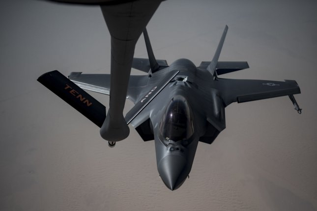 The U.S. Air Force announced Thursday that Hill Air Force Base, Utah, has received its 78th F-35A Lightning II. File Photo by Senior Airman Keifer Bowes/U.S. Air Force/UPI