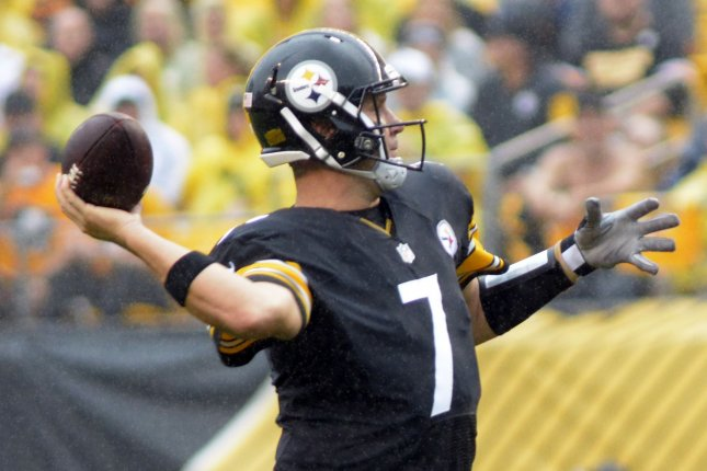 Pittsburgh Steelers quarterback Ben Roethlisberger. Photo by Archie Carpenter/UPI