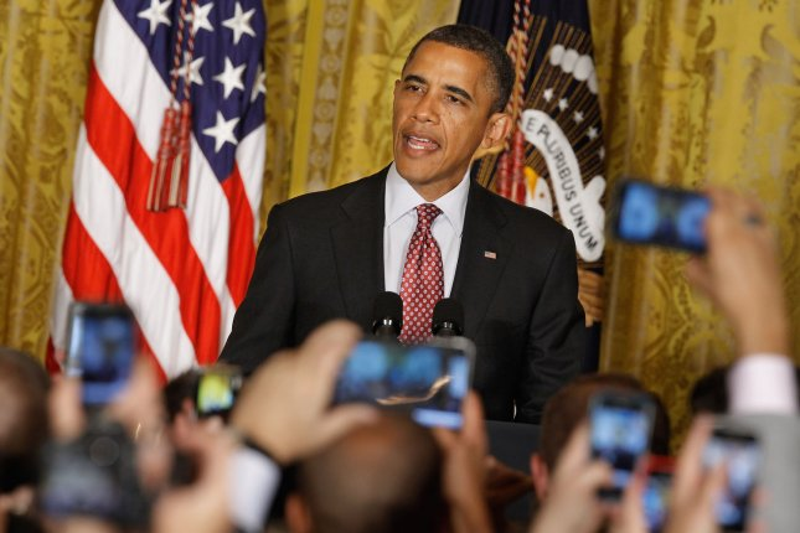 U.S. President Barack Obama at the White House in Washington, June 15, 2012. UPI/Chip Somodevilla/Pool