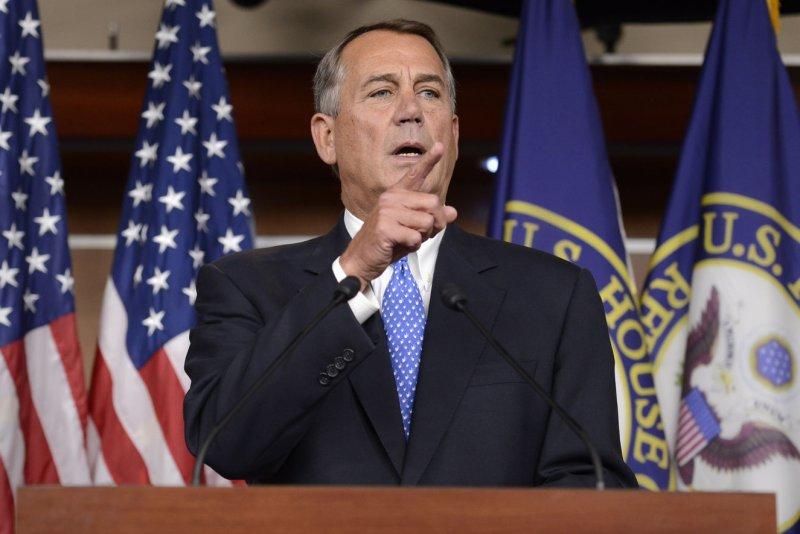US House Speaker John Boehner. UPI/Mike Theiler