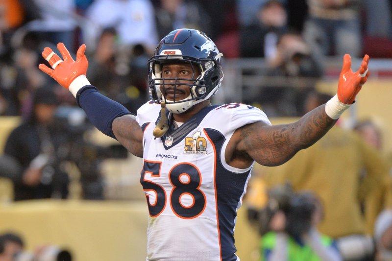 timeless design a2c73 ae516 Denver Broncos' Von Miller admits breaking rule on key play ...
