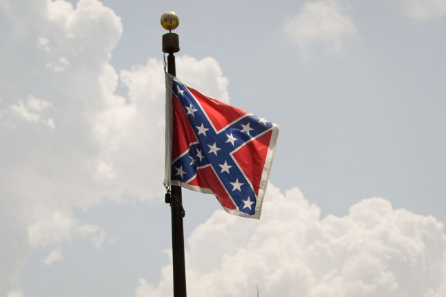 The House voted Thursday to approve an amendment limiting the use of the Confederate battle flag in national cemeteries. Photo by Kevin Liles/UPI