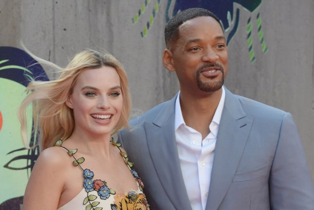 Margot Robbie and Will Smith attending the premiere of Suicide Squad in London on August 3. Smith and Robbie, along with Viola Davis, make Suicide Squad a shining example of diversity that comic book adaptions and Hollywood have been lacking. Photo by Rune Hellestad/ UPI