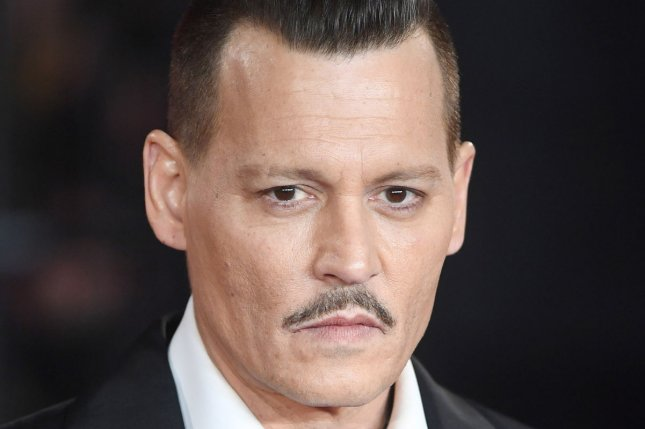 Johnny Depp plays Gellert Grindelwald in Fantastic Beasts and Where to Find Them and its forthcoming sequel. File Photo by Rune Hellestad/UPI